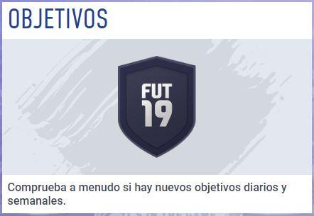 FIFA Ultimate Team Web App Objetivos Diarios Semanales
