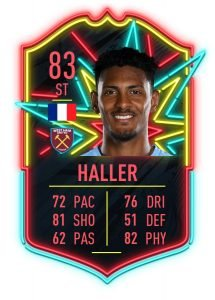 Haller Ones to Watch FIFA 20