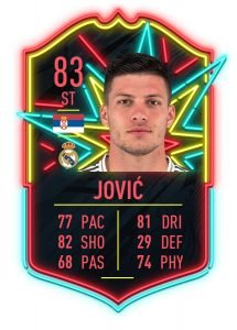Jovic Ones to Watch FIFA 20