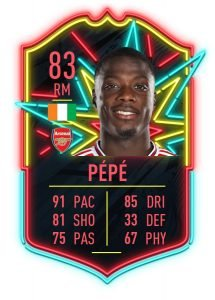Pepe Ones to Watch FIFA 20