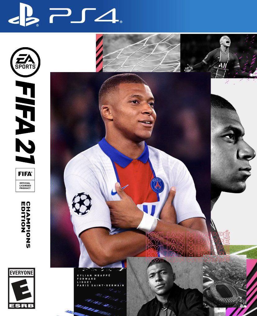 Caratula FIFA 21 Champions Edition