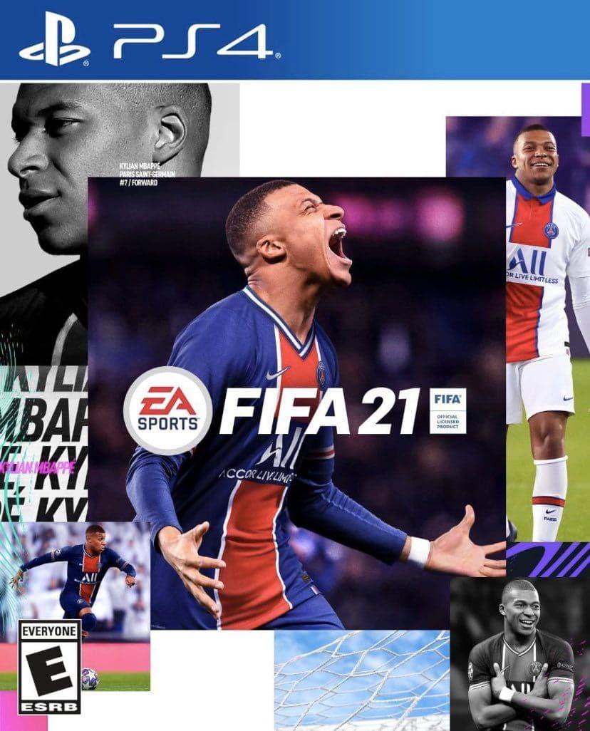 Caratula FIFA 21 Standard Edition