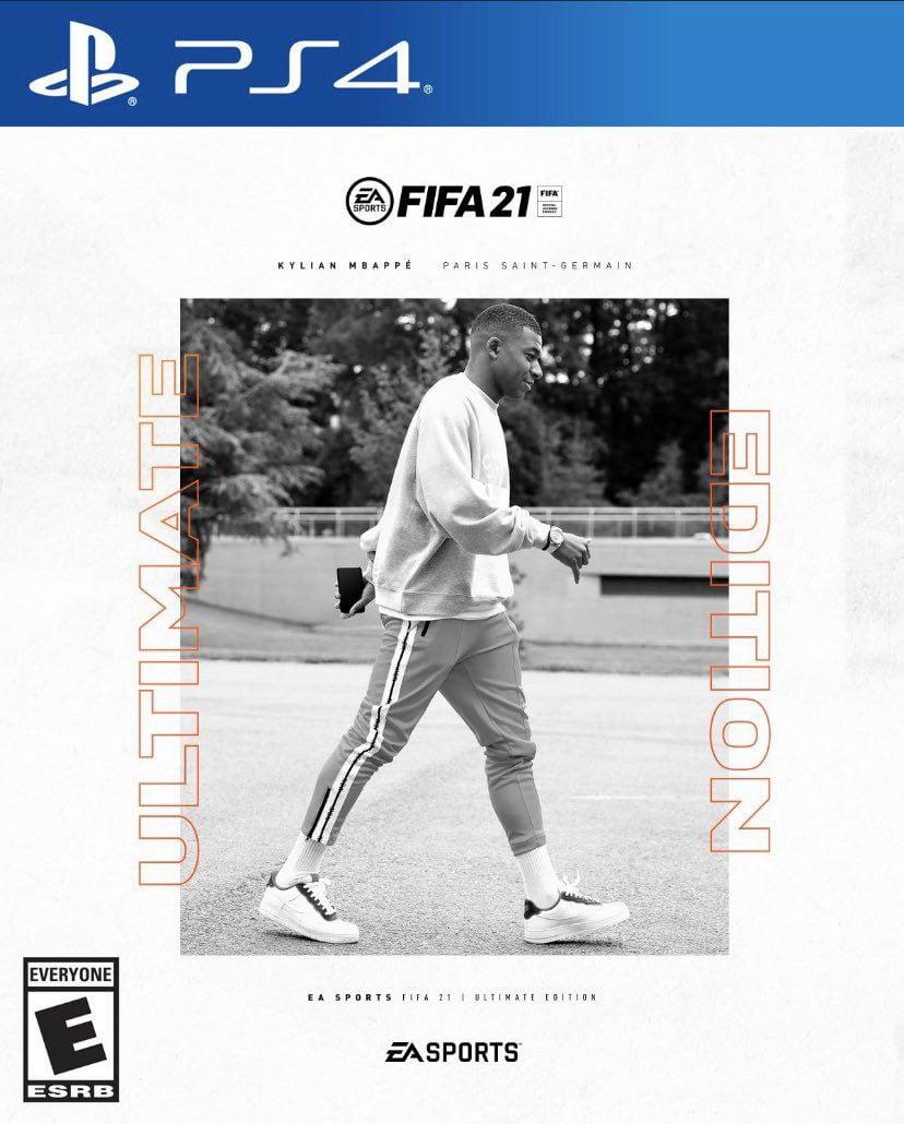 Caratula FIFA 21 Ultimate Edition