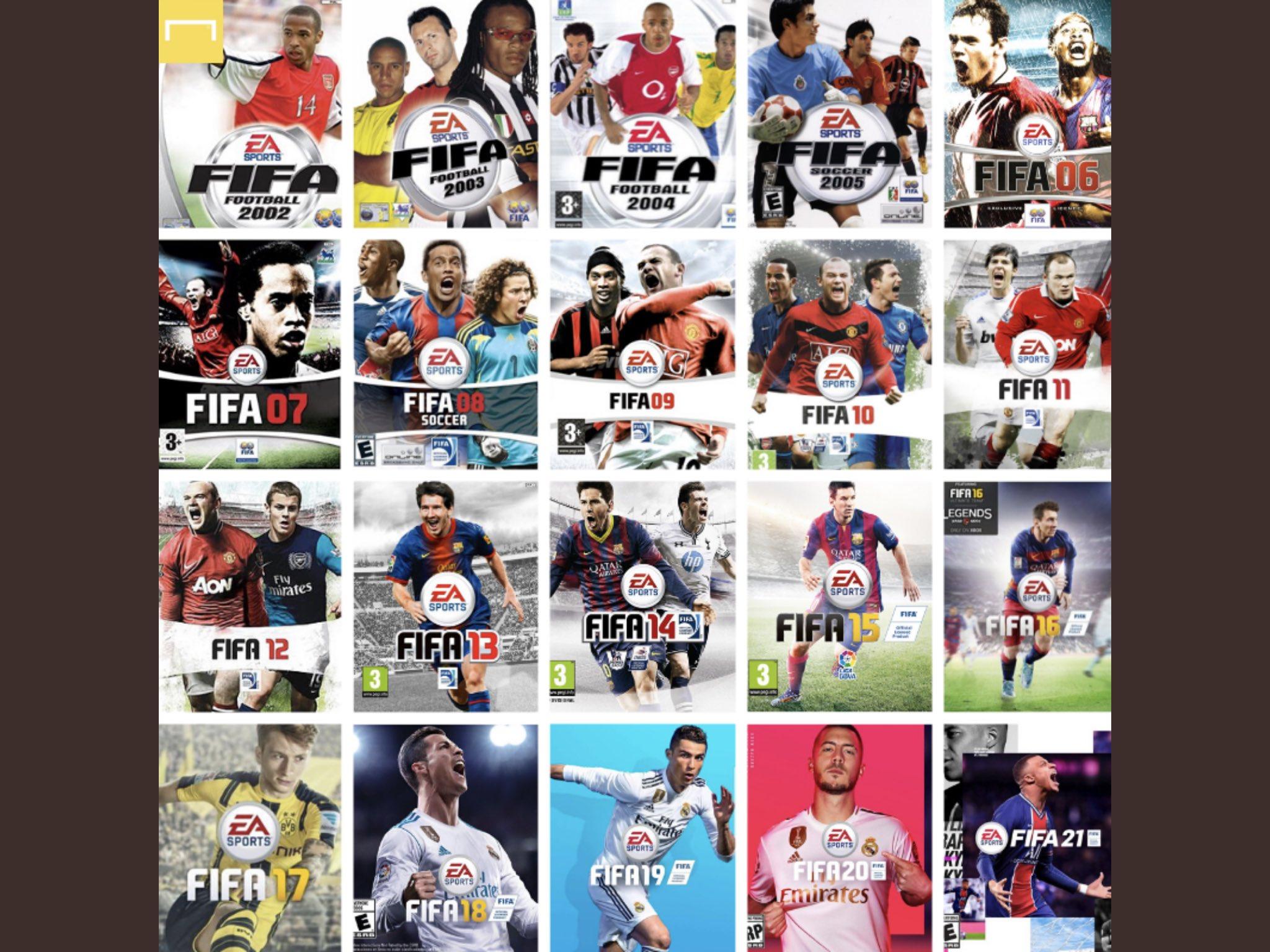 Todas las Caratulas de FIFA
