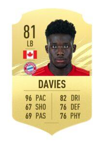 Alphonso Davies FIFA 21