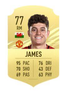 Daniel James FIFA 21