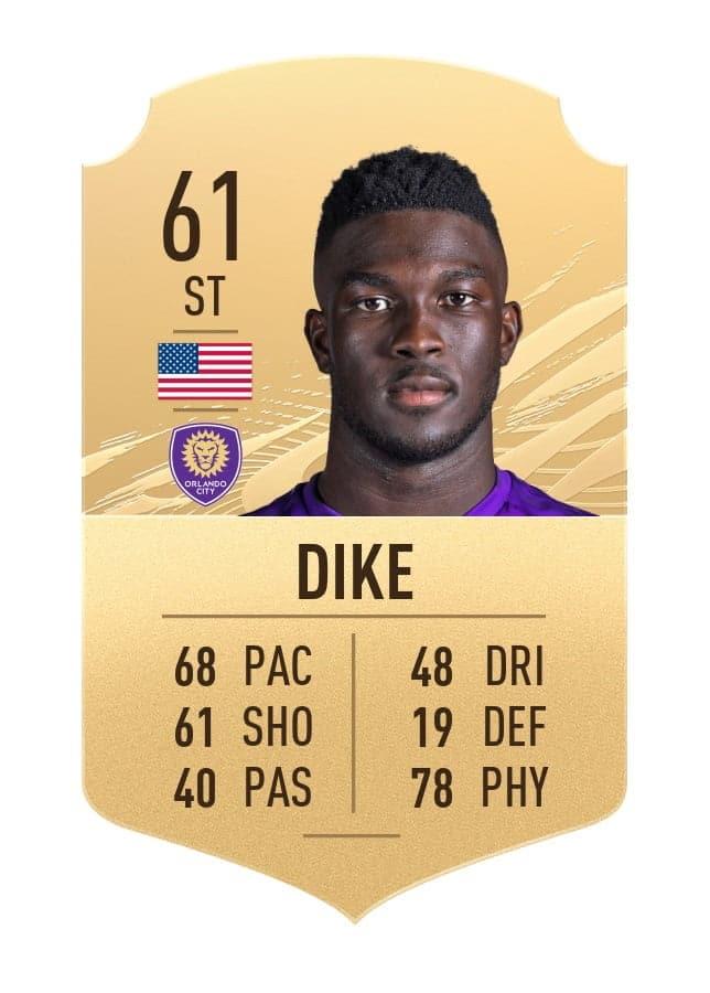 Daryl Dike FIFA 21