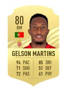 Gelson Martins FIFA 21