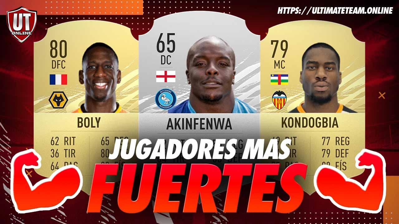 Jugadores Mas Fuertes FIFA 21