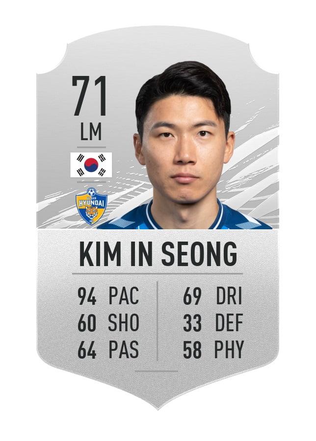 Kim In Seong FIFA 21