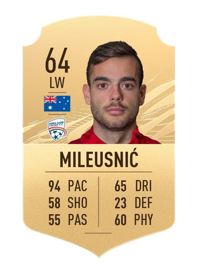 Nikola Mileusnic FIFA 21