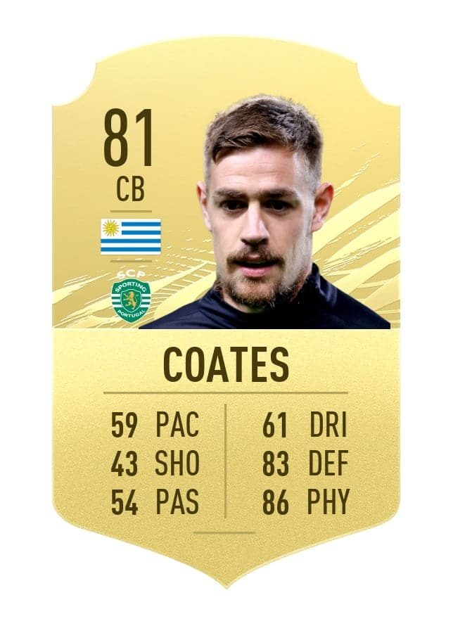 Sebastian Coates FIFA 21