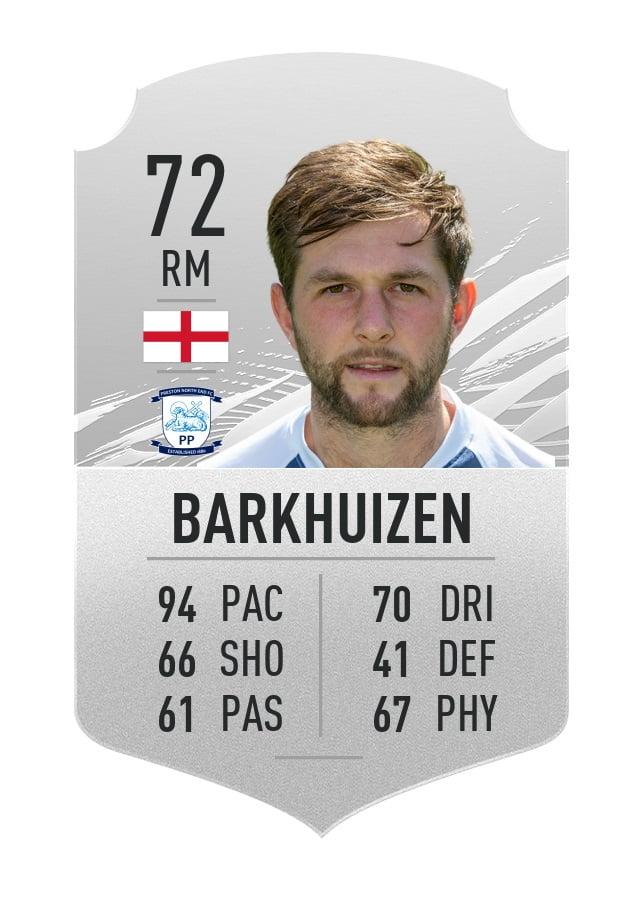 Tom Barkhuizen FIFA 21
