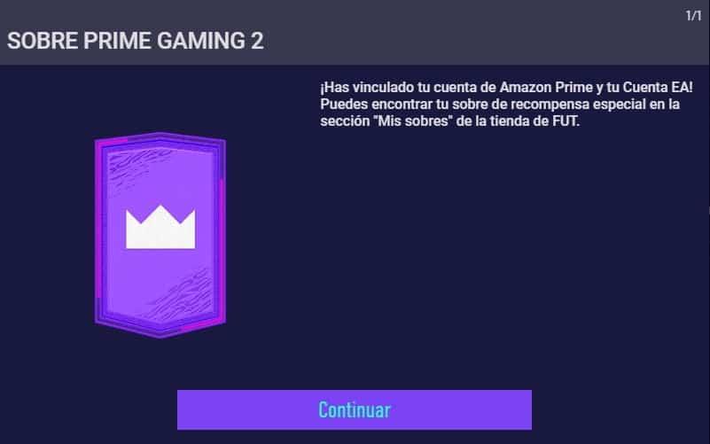 Sobre Prime Gaming FIFA 21