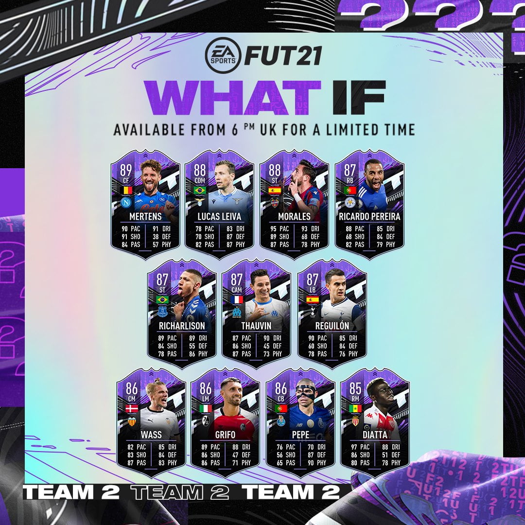 Equipo 2 What If FIFA 21