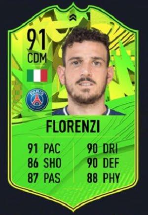 Alessandro Florenzi Camino a la Gloria FIFA 21