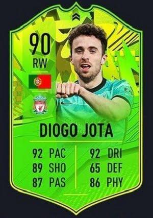 Diogo Jota Camino a la Gloria FIFA 21
