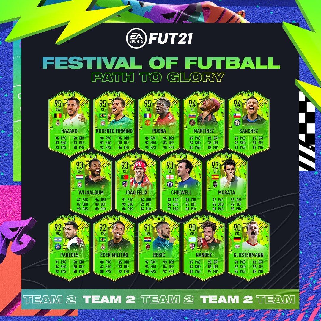 Equipo 2 Festival Of FUTball FIFA 21