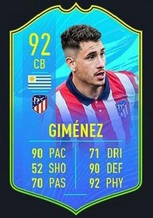 Jose Gimenez Camino a la Gloria FIFA 21