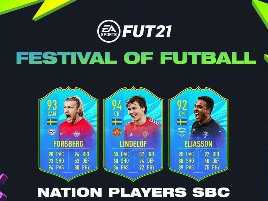 Jugadores Nacion Suecia Festival de FUTbol FIFA 21