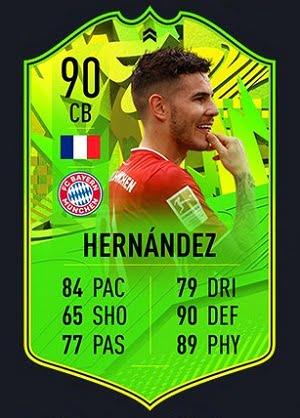Lucas Hernandez Camino a la Gloria FIFA 21