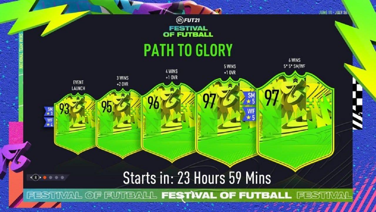 Mejoras Festival of FUTball FIFA 21