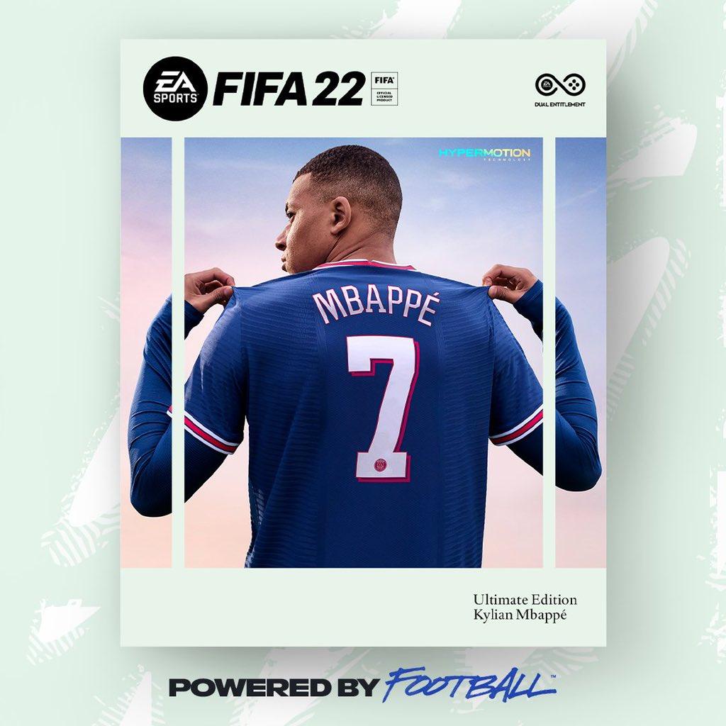 Portada FIFA 22 Ultimate Edition