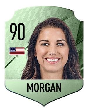 Carta Morgan FIFA 22