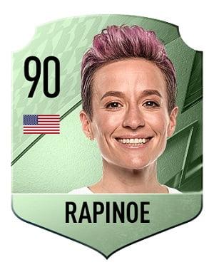 Carta Rapinoe FIFA 22