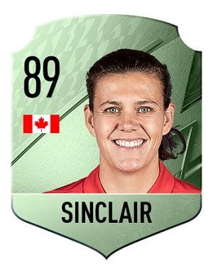 Carta Sinclair FIFA 22